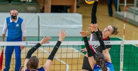 Волейболистки г. Каменское завершили первый этап женской Суперлиги непобеждёнными  Днепродзержинск