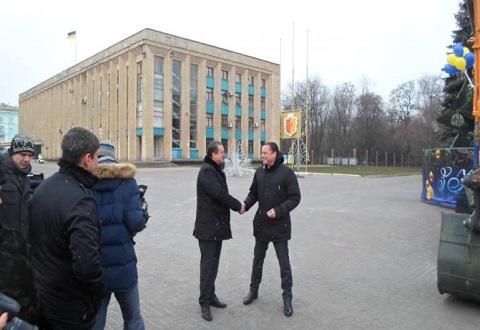 Предприятие «Горводоканал» г. Каменское пополнило технический парк Днепродзержинск