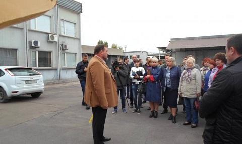 На промышленном предприятии Каменского провели круглый стол Днепродзержинск