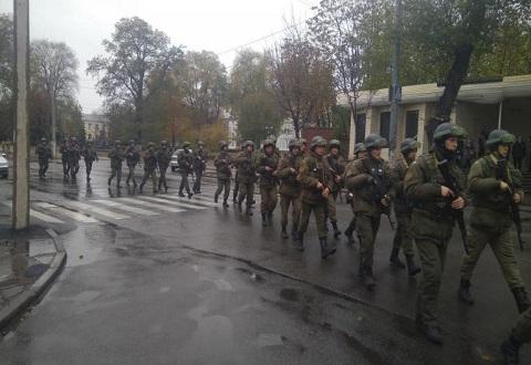 На территории Каменского прошли антитеррористические учения Днепродзержинск