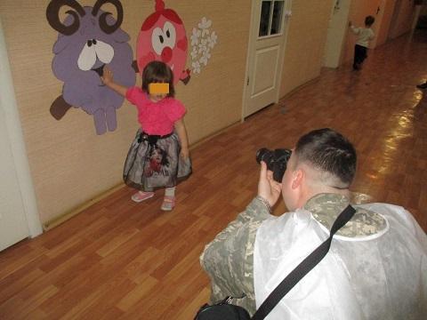 Исправительная колония г. Каменское провела фотосессию Днепродзержинск