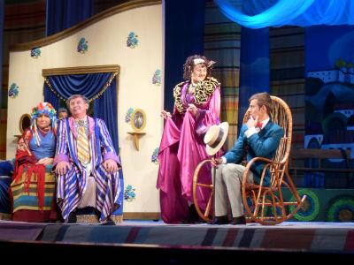 Открытие 37-го театрального сезона в Каменском Днепродзержинск