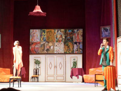 Замена трех спектаклей в каменском театре Днепродзержинск