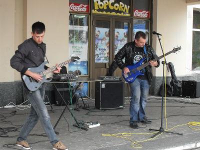 День уличной музыки в Каменском Днепродзержинск