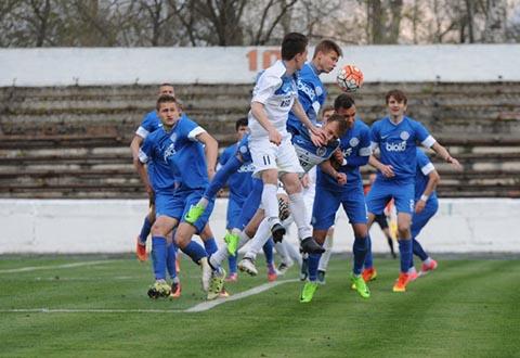 Молодежная команда «Стали» г. Каменское переиграла «Днепр» U-21 Днепродзержинск