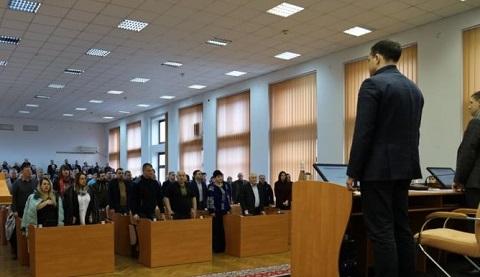 Депутаты горсовета г. Каменское начали работу 40-й сессии Днепродзержинск