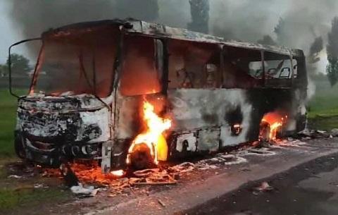 Недалеко от г. Каменское горел бензовоз  Днепродзержинск
