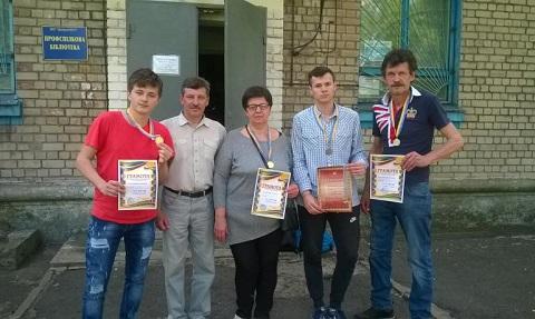 Спортсмены Каменского провели шахматный турнир Днепродзержинск