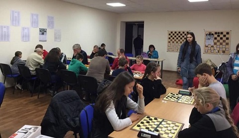 В г. Каменское провели турниры по шахматам и шашкам Днепродзержинск