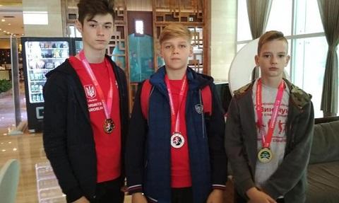На мировом чемпионате по ушу спортсмены Каменского получили 10 медалей Днепродзержинск
