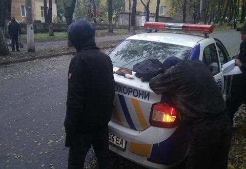 Полиция Каменского провела задержание воров кабельной продукции Днепродзержинск