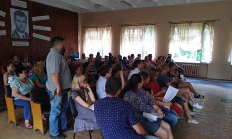 В Каменском провели рабочую встречу по вопросам СОШ № 20 Днепродзержинск