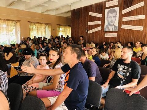 В Каменском говорили о готовности школы № 20 к учебному году Днепродзержинск