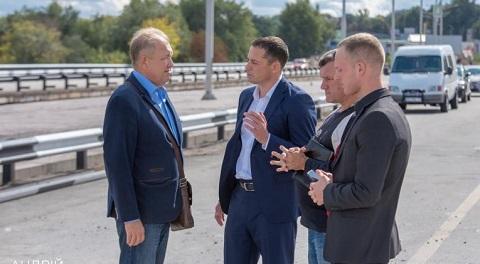 Городской голова Каменского побывал на объекте капремонта Днепродзержинск