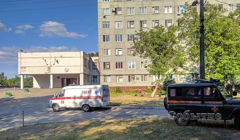 Под г. Каменское в кювет слетел микроавтобус с людьми  Днепродзержинск