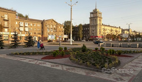 Каменчане увидят новый облик центрального сквера ко Дню города Днепродзержинск