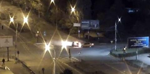В Каменском случилось ночное ДТП  Днепродзержинск