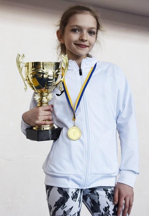 Каменская теннисистка стала победителем турнира в г. Полтава Днепродзержинск