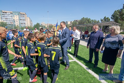 В Каменском подвели итоги футбольного турнира Днепродзержинск