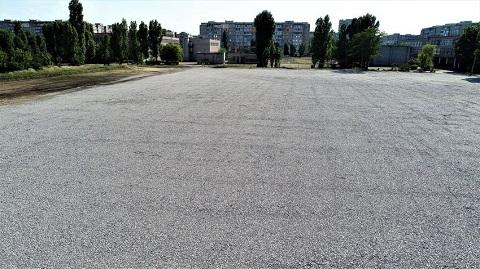 В Каменском завершили первый этап строительства нового стадиона Днепродзержинск