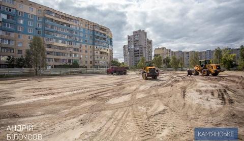 В Каменском строят два многофункциональных спорткомплекса Днепродзержинск