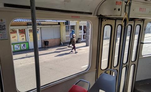 Драка и разбитое стекло в трамвае г. Каменское Днепродзержинск