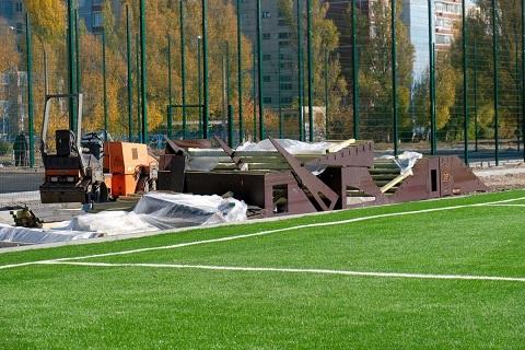 Спортивные объекты Каменского  продолжают реконструировать Днепродзержинск