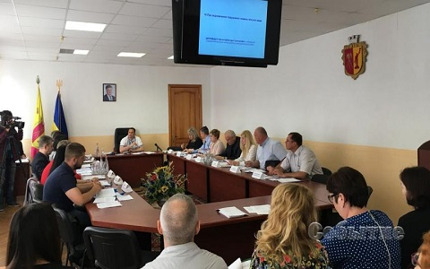 В Каменском на заседании исполкома говорили о корректировке тарифов на централизованное отопление Днепродзержинск