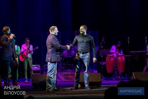 В г. Каменское весело поздравили с праздниками предпринимателей города Днепродзержинск