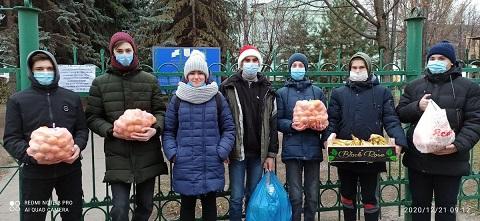 Воспитанников детского дома г. Каменское посетили студенты энергетического техникума Днепродзержинск