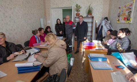 Мэр г. Каменское провел выездное совещание на объекте в Южном районе Днепродзержинск