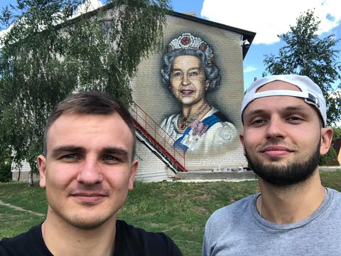 Каменской художник украсит в Петриковке арт-объект Днепродзержинск