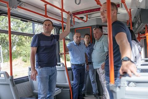 В Каменском прошла презентация первого чешского трамвая  Днепродзержинск