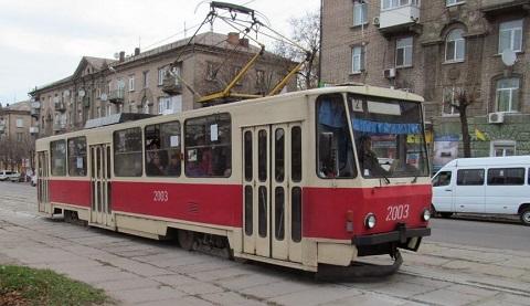Трамвай №2 г. Каменское временно изменит маршрут Днепродзержинск