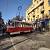 В Каменском вагон трамвая слетел с рельсов