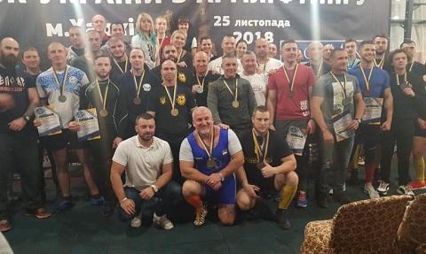 Новый мастер спорта международного класса из Каменского установил рекорды Украины по армлифтингу Днепродзержинск