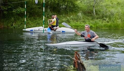 В г. Каменское соревновались любители водного туризма Днепродзержинск