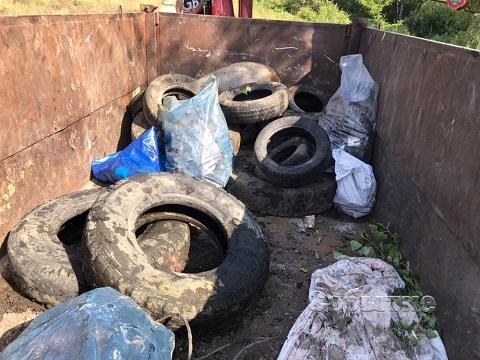 Активисты г. Каменское продолжили работы по спасению левобережного канала Днепродзержинск