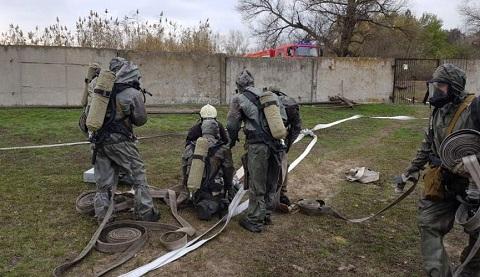 На сооружениях «Горводоканала» города Каменское прошли учения Днепродзержинск