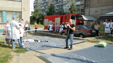 В Каменском провели специальные объектовые учения Днепродзержинск