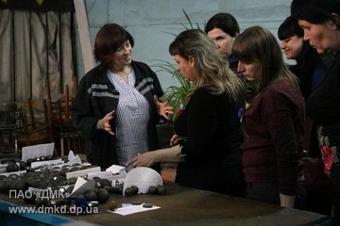 В гостях у металлургов г. Каменское побывали учителя химии Днепродзержинск