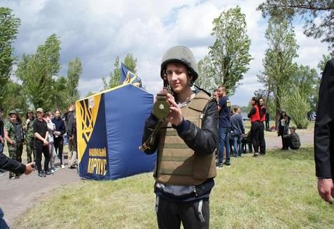 Игры спортивно-патриотического фестиваля в Каменском провели для учащейся молодежи Днепродзержинск