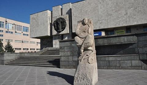 Музей истории Каменского ко Дню Независимости Украины открыл выставку Днепродзержинск
