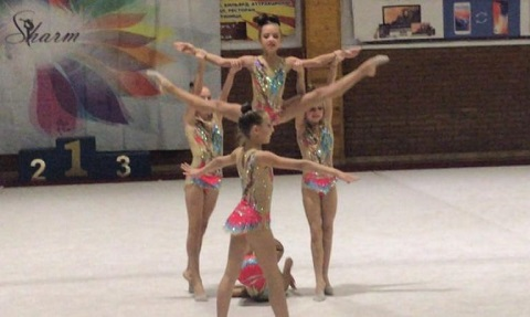Каменские гимнастки стали лучшей командой открытого чемпионата Винницкой области Днепродзержинск