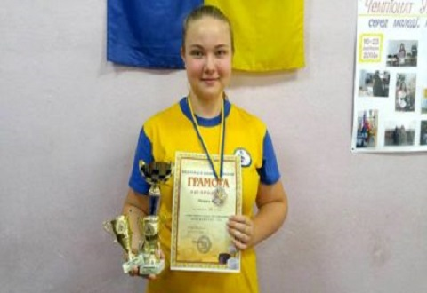 Каменчанка Вера Попруга завоевала «серебро» Кубка Украины Днепродзержинск