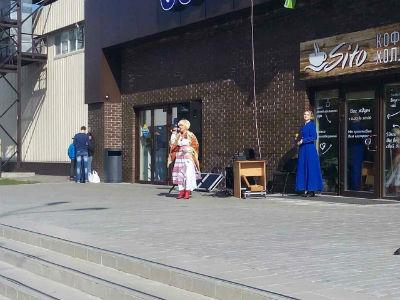 Подарок к майским праздникам от каменского театра Днепродзержинск