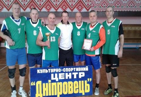 Каменчане провели Кубок ветеранов волейбола Днепродзержинск