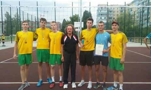 Волейбольный турнир спортсмены Каменского провели в День города Днепродзержинск