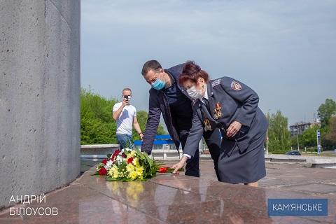 В Каменском отмечают 75 годовщину Великой Победы  Днепродзержинск