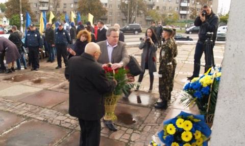 В Каменском проходят торжества в честь Дня освобождения города Днепродзержинск